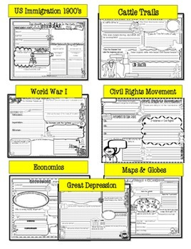 US History: Activities: 4th Grade Social Studies: 5th Grade Social Studies