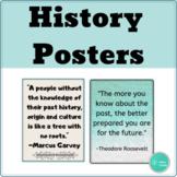Classroom Decor Social Studies Posters