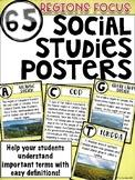 Social Studies Posters: Regions Focus
