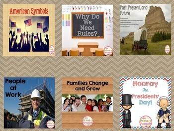 Social Studies Power Point Bundle