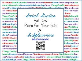 Social Studies Product Book