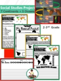 Social Studies Project 7 Continents and 5 Oceans   Writing