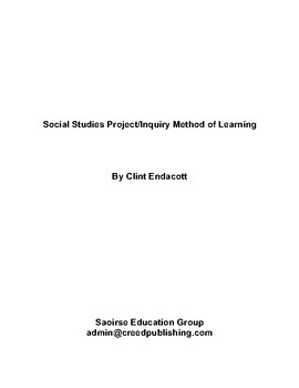 Social Studies Project/Inquiry Method of Learning