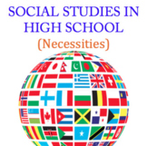 Social Studies Projects & Presentation Assignments
