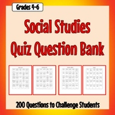 Social Studies Question Bank