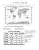 Elementary Science Social Studies Quiz - Geography and Maps