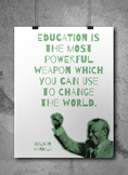 Social Studies Quotes Classroom Poster for HS  *FREE* Printable