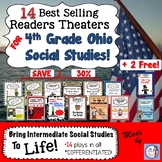 4th Grade Ohio Social Studies Reader's Theater Super Bundle! (differentiated!)