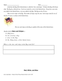 Social Studies Reading Comprehension - US National Symbols