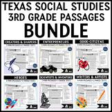 Social Studies Reading Passages Bundle Grade 3
