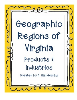 Social Studies: Regions of Virginia