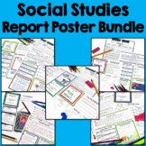 Social Studies Report Poster Bundle