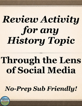 Social Studies Review Activity for ANY TOPIC