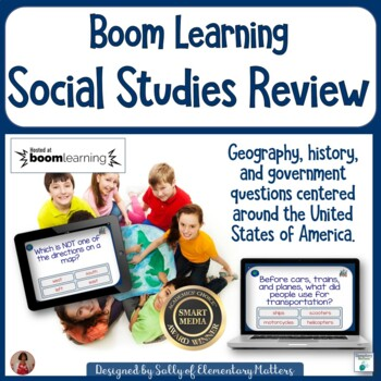 Social Studies Review BOOM Cards