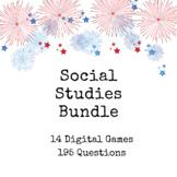 Social Studies Review Bundle: 14 Games!