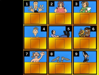 Social Studies Review Game (Humanism 3)