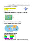 Social Studies Review: Maps, Directions, Continents, Oceans