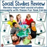 Social Studies Review Task Cards