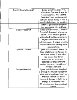 Social Studies Review for CRCT 3rd Grade