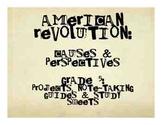 Social Studies: Revolutionary War: Causes & Debate Project