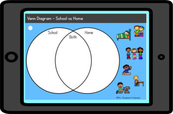 Social Studies Rules at School and Home - Kindergarten and 1st
