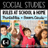 Rules at School and Home - Kindergarten and 1st Social Studies