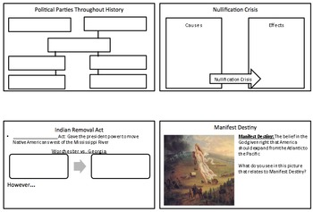 Social Studies STAAR Review Foldable Grade 8 - Part 2