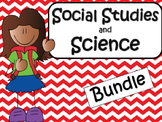 Social Studies & Science Bundle 3rd and 4th Grade
