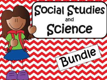 Social Studies & Science Bundle 3rd and 4th Grade