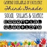 Social Studies & Science Essential Questions - Georgia 3rd Grade