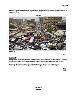 Social Studies/Sciences Exam Question Papaer Grade 8 (Master Mentor's Materials)