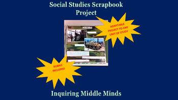 Social Studies Scrapbook Project