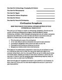 Social Studies Scrapbook Project Explanation, Examples, Te