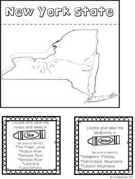Social Studies Series: New York State Lap Book