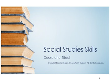 Social Studies Skills: Cause and Effect