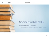 Social Studies Skills: Compare and Contrast