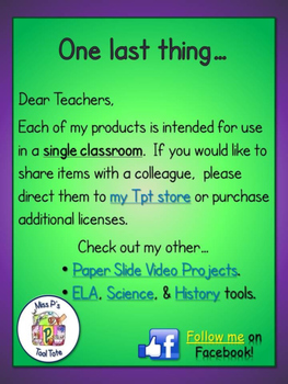 Slide Paper Video [Social Studies]