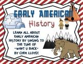 Social Studies Song Lyrics (Early Native American History, American Revolution)