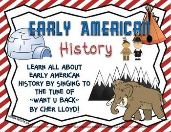 Social Studies Song Lyrics (Early Native American History,