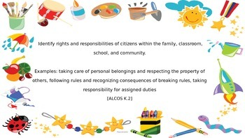 ALCOS Social Studies Standard Cards