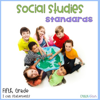 Social Studies Standards Fifth Grade
