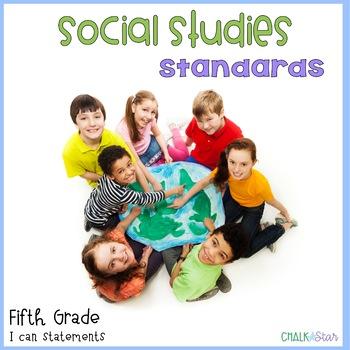 Social Studies Standards Fifth Grade