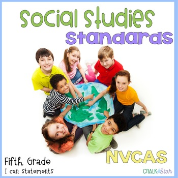 Social Studies Standards Fifth Grade NVCAS