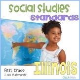 Social Studies Standards First Grade Illinois