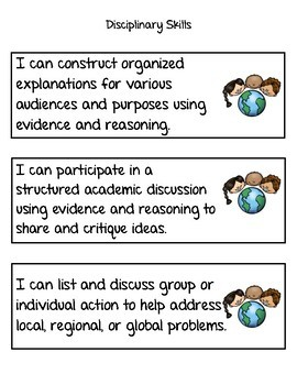 Social Studies Standards Third Grade NVCAS