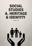 Social Studies Strand A: Heritage & Identity Unit Plan