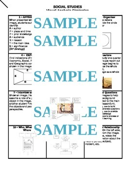 Social Studies Strategies with  Graphic Organizers Organizers