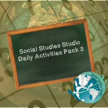Social Studies Studio Daily Activities Pack 3