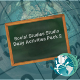Social Studies Studio Daily Activities Pack 2