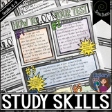 Social Studies Study Skills Doodle Notes and Stations
